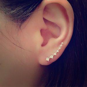 Jewelry - Elegant Rhinestone Fashion Earrings